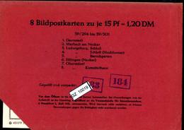 Bundesrepublik, P81, 39/294 - 39/301, Mi 12,00 - Cartoline - Nuovi