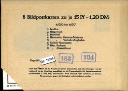 Bundesrepublik, P81, 41/310 - 41/317, Mi 12,00 - Cartoline - Nuovi