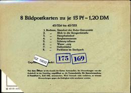 Bundesrepublik, P81, 43/326 - 43/333, Mi 12,00 - Cartoline - Nuovi