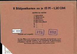 Bundesrepublik, P81, 44/334- 44/341, Mi 12,00 - Cartoline - Nuovi