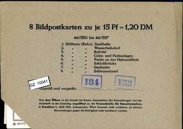 Bundesrepublik, P81, 46/350- 46/357, Mi 12,00 - Cartoline - Nuovi
