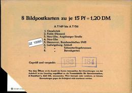 Bundesrepublik, P86, A7/49- A7/56 Mi 14,00 - Cartoline - Nuovi