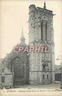 CPA Josselin Basilique Notre Dame Du Roncier La Nouvelle Tour - Josselin