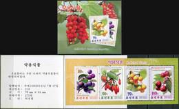 Korea 2014. Herbal Plants (MNH OG) StampPack - Korea (Nord-)