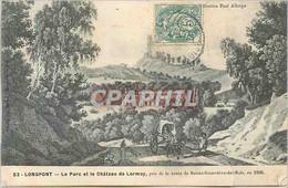 CPA 52 Longpont Le Parc Et Le Chateau De Lormoy Pris De La Route De Sainte Genevieve Des Bois En 180 - Non Classificati