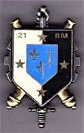 21° Bataillon Du Matériel. écu Bleu. Delsart.3240. - Army