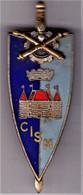 CISM. Centre D'Instruction Et Spécialisation Du Matériel. T1. émail Grand Feu. D.2206. - Army