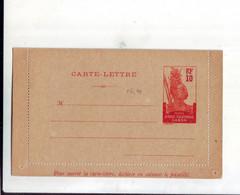 320  ENT Entier Postal  GABON  CL - Storia Postale
