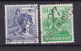 SBZ Zone - 1949 Year - Michel 180/181 V - MNH - Soviet Zone