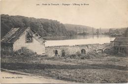 61 - Forêt De Tronçais Paysages L'Etang De Morat écrite - Other Municipalities