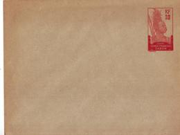 322  ENT Entier Postal  GABON  ENV - Storia Postale