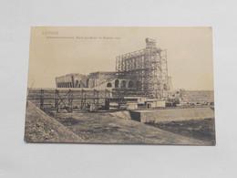 Leipzig, Völkerschlachtdenkmal, Stand Des Baues Im Sommer 1905 - Leipzig
