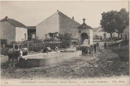 CHAMPIGNY-LES-LANGRES  - La Vieille Fontaine. - Andere Gemeenten