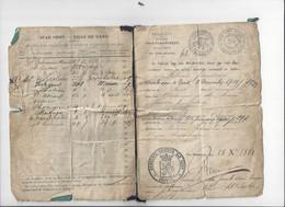 Ville De Gand / Stad Gent - 1881 - Huwelijksboekje - Historical Documents