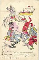 Satirique Illustr D'Aly Je Ne Savais Pas Au Commencement De La Guerre Que J'avais Affaire à Une Armée De Porc -epics ! - Patriotic