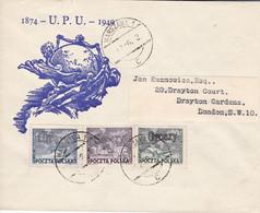 "Polen 1949, 533/35,  Used Oo , 75 Jahre Weltpostverein (UPU). Üdr. ""Groszy"" - Briefe U. Dokumente"