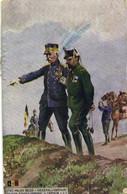Militaria Patriotique ETAT MAJOR BELGE  GENERAL Et CAPITAINE  RV - Patriotic