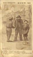 Illustrateur Signé NOS ENFANTS  Jour De L' An 1940 Souhaits RV - War 1939-45