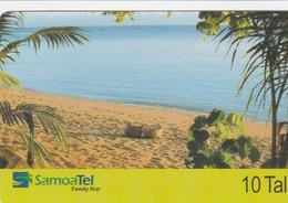 Samoa - Beach Scene (12/2004) - Samoa