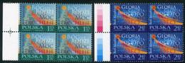 POLAND 2010 Christmas Blocks Of 4 MNH / **.  Michel 4502-03 - Unused Stamps