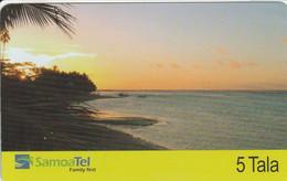 Samoa - Beach At Sunset (07/2004) - Samoa