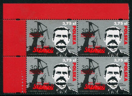 POLAND 2010 30th Anniversary Of Solidarity Block Of 4 MNH / **.  Michel 4491 - Unused Stamps