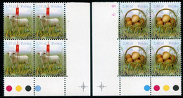 POLAND 2010 Easter Blocks Of 4 MNH / **.  Michel 4474-75 - Unused Stamps