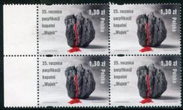 POLAND 2006 Katowice Miners' Strike Block Of 4 MNH / **.  Michel 4296 - Unused Stamps