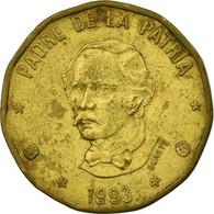 Billet, Dominican Republic, Peso, 1993, TTB, Laiton, KM:80.2 - Dominicana
