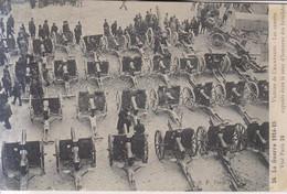 Victoire De Champagne  Les Canons Exposes Dans Le Cour D'honneur Des Invalides Carte Postale Animee  1915 - War 1914-18