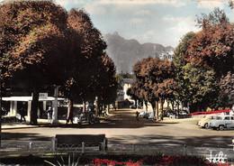 Aix Les Bains (73) - Vers La Place Maurice Mollard - Au Fond La Dent Du Chat - Aix Les Bains