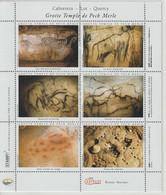 France Feuillet 6 Vignettes Grotte De Pech Merle Cabrerets (46) - Otros