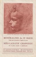 21/257 Buvard LABORATOIE MAUCHANT GENNEVILLIERS Dessin L DE VINCI - Produits Pharmaceutiques