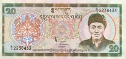 Bhutan 20 Ngultrum, P-23 (2000) - UNC - Bhutan