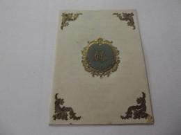 Menus Ancien 18 Aout 1901 - Menus