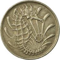 Monnaie, Singapour, 10 Cents, 1971, Singapore Mint, TTB, Copper-nickel, KM:3 - Singapore