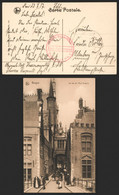 "Bataillon Allemand - Feldpostkarte (Brugge 1917) + Briefstempel ""Schwefel Korpsartillerie / Regimant N°1"" > Oldenburg - Army: German"