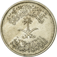 Monnaie, Saudi Arabia, UNITED KINGDOMS, 10 Halala, 2 Ghirsh, 1972/AH1392, TTB - Saudi Arabia
