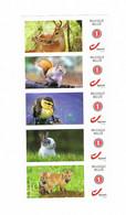 BELGIE :  STROOK VAN 5 POSTFRISSE ZEGELS - Personalisierte Briefmarken