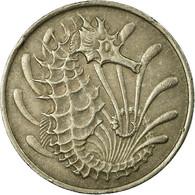 Monnaie, Singapour, 10 Cents, 1968, Singapore Mint, TB+, Copper-nickel, KM:3 - Singapore