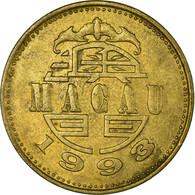 Monnaie, Macau, 50 Avos, 1993, British Royal Mint, TTB, Laiton, KM:72 - Macau