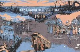 FRANCE 2018 BLOC OBLITERE CENTENAIRE DE L ARMISTICE 11 NOVEMBRE 1918 YT -  F 5284 - Used