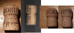 3 Tappi Sughero - Bortolomiol - Biere De Tradition - I.C.R.F 1776 - Other