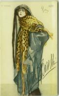 SACCHETTI SIGNED 1910s POSTCARD - GLAMOUR WOMAN / LYDA BORELLI ( LA SPEZIA ) EDIZ. POLENGHI N.16/2 (BG1861) - Weltkrieg 1914-18