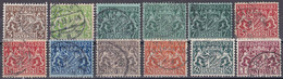 Bayern 1916/17 - Dienstmarken Mi.Nr. 16 - 24 - Gestempelt Used - Bavaria