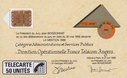 C-20 103609 Jean Boissonnat - Phonecards: Internal Use
