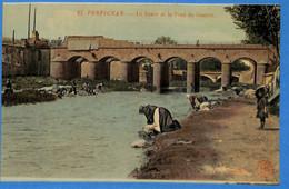 66 -  Pyrénées Orientales - Perpignan - La Basse Et Le Pont De Guerre    (N5657) - Perpignan