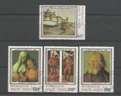 Haute-Volta 1978 A. Dürer 450th Anniv. Y.T. 465/468 (0) - Obervolta (1958-1984)