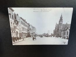 Brugge - Bruges - Station- Statieplaats - Tram - Paarden - Brugge