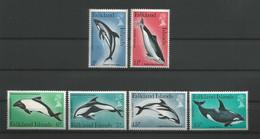 Falkland 1980 Dolphins & Whales Y.T. 293/298 ** - Falklandinseln